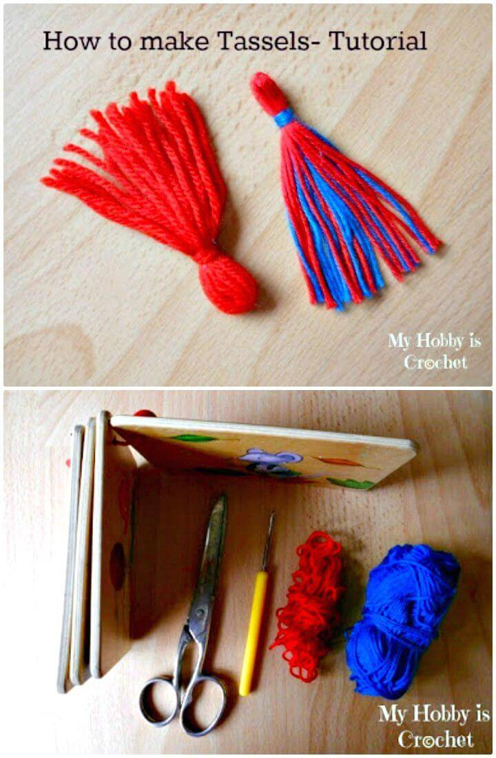 How To Make A Tassel - A Step By Step Free Crochet Pattern
