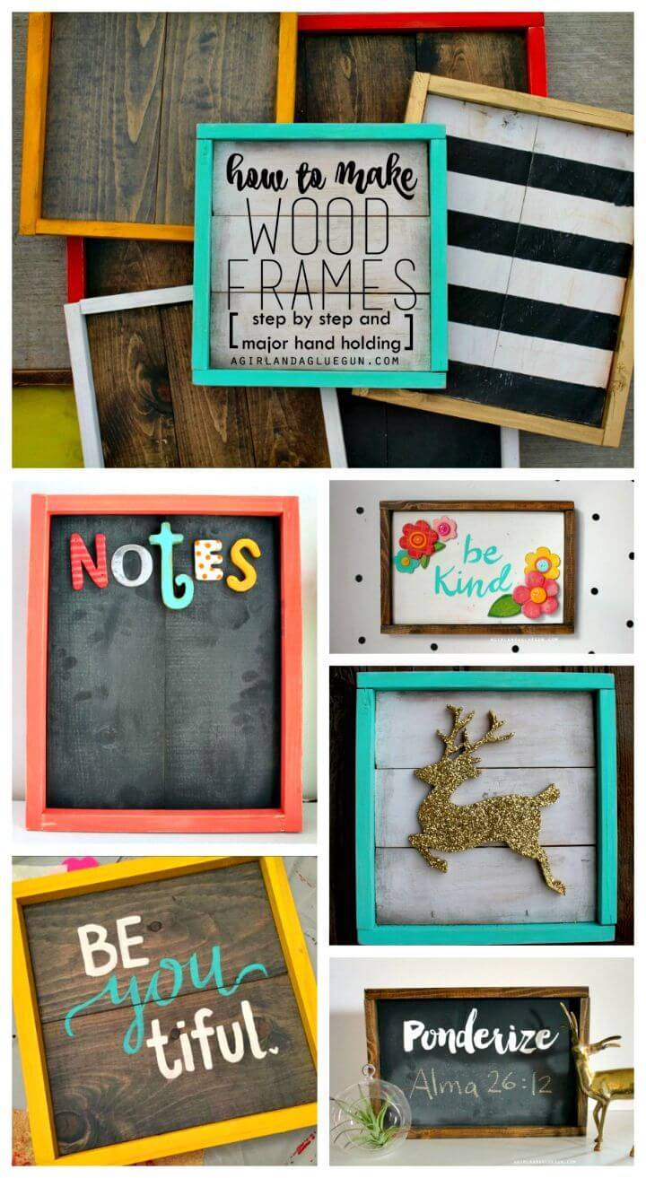 Easy How To Make Wood Frames Tutorial