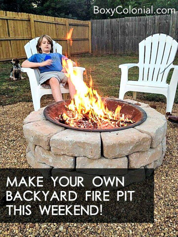 Make Your Own Backyard Fire Pit