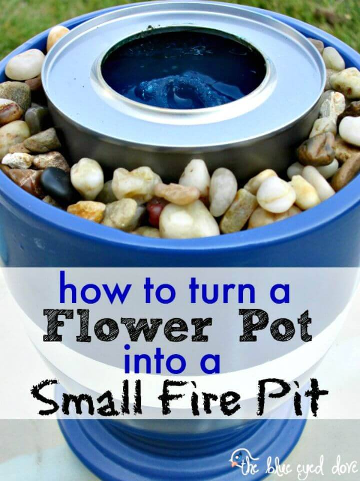 How To Make Your Own Small Fire Pit Tutorial