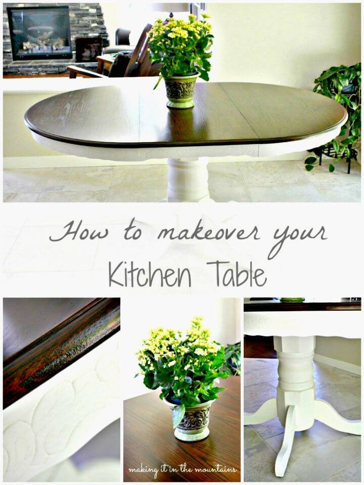 How To Makeover Your Kitchen Table