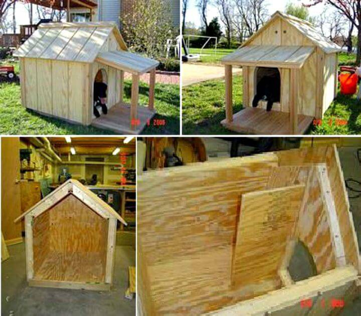 Easy How to Build a Dog House Tutorial