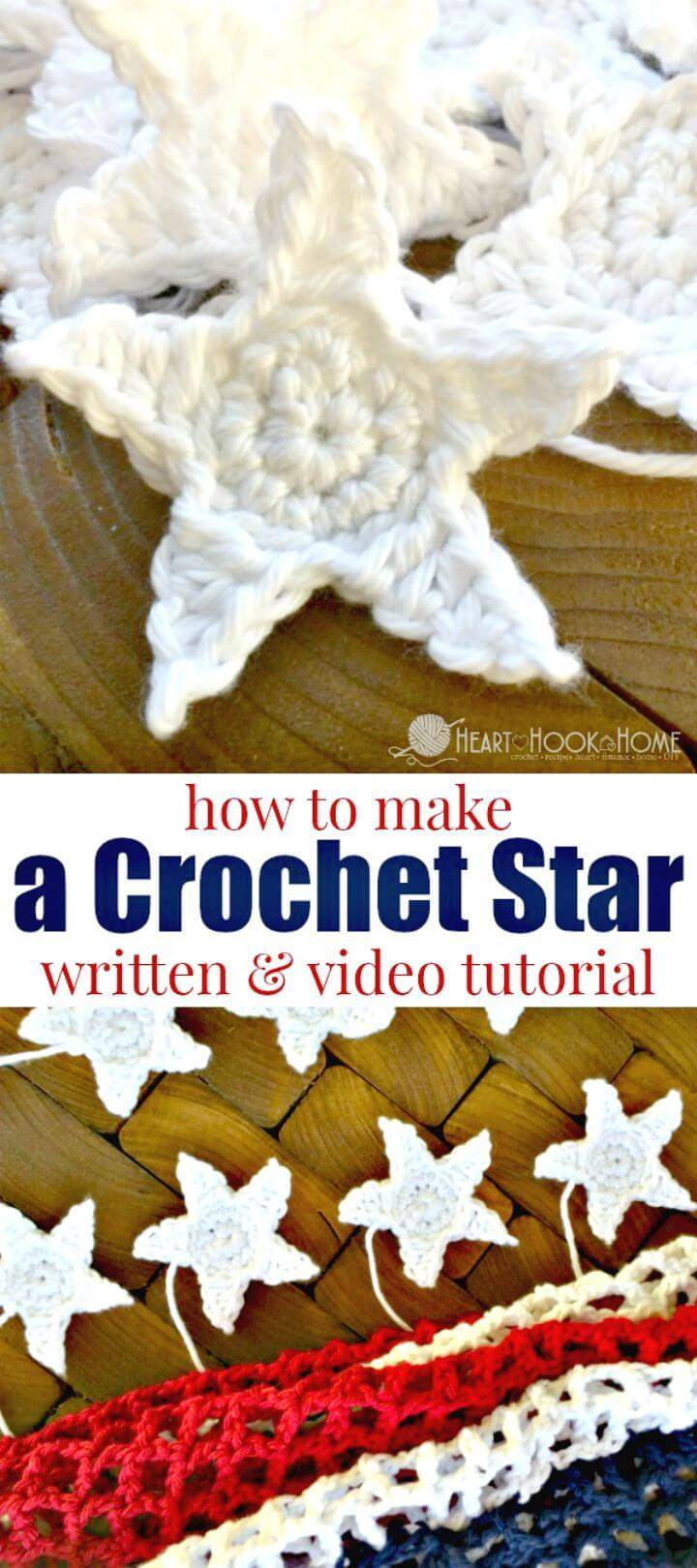 Easy How To Free Crochet Star Pattern