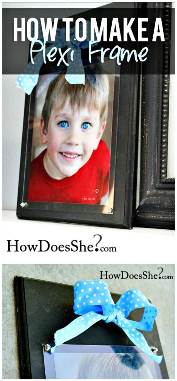 Easy Build Your Own Plexi Frame Tutorial