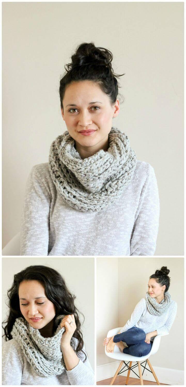 81 Free Crochet Cowl Patterns / Crochet Infinity Scarf - DIY & Crafts