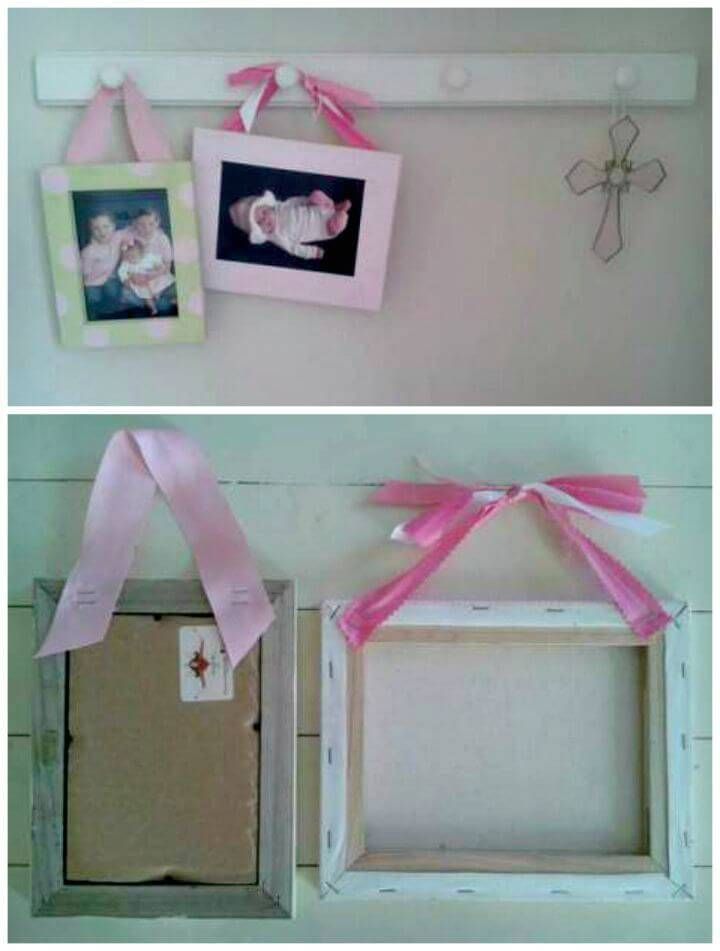 DIY Little Picture Frame Tutorial