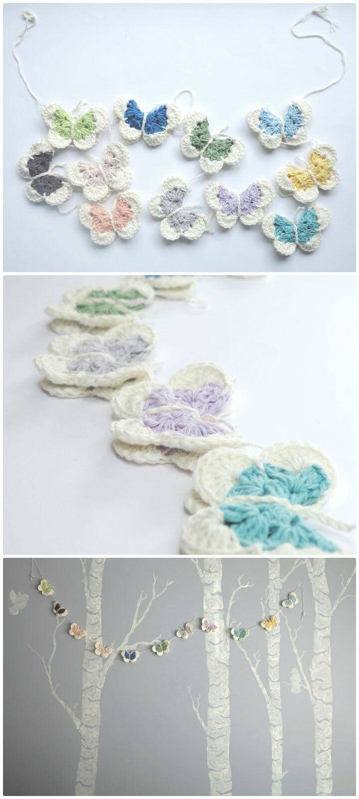 Crochet Garland Pattern 73 Free Crochet Garland Ideas Diy Crafts