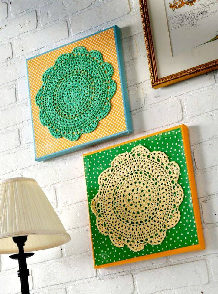How To Make Your Own Wall Art Tutorial