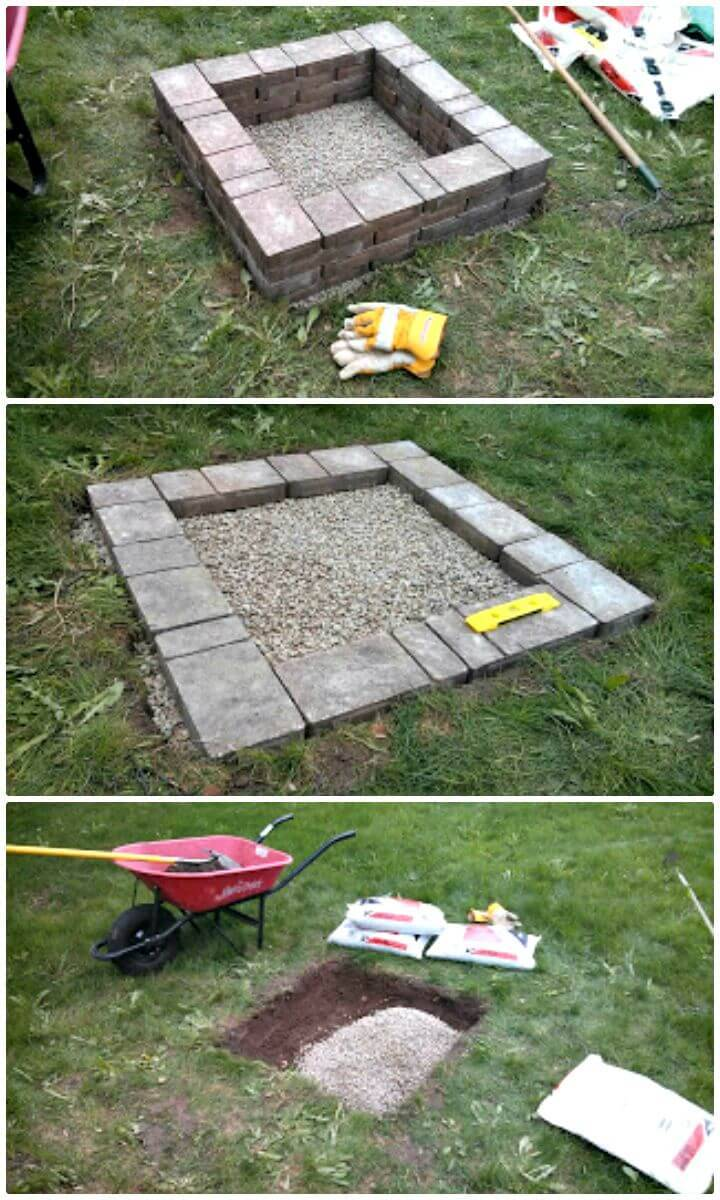 Mothers Day DIY Fire Pit Tutorial