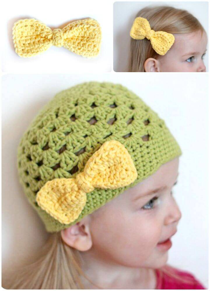 Simple Free Crochet Bow Pattern
