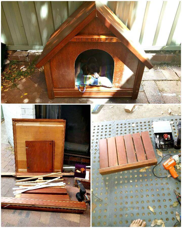 Super Cute DIY Dog House Tutorial