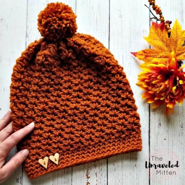 Free Crochet Wildwood Slouchy Beanie Pattern