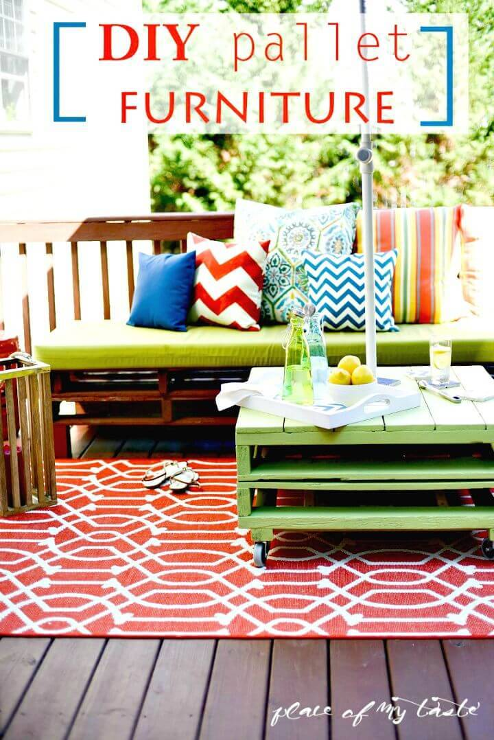 Beautiful and Easy DIY Pallet Furniture Tutorial
