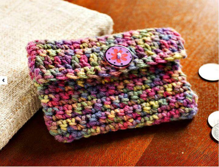 Beautiful Crochet Coin Purse - Free Pattern