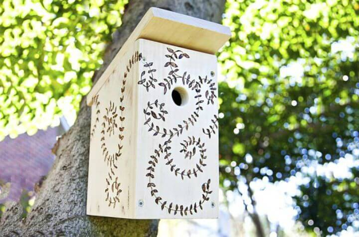 How To Build Your Own Birdhouse Tutorial
