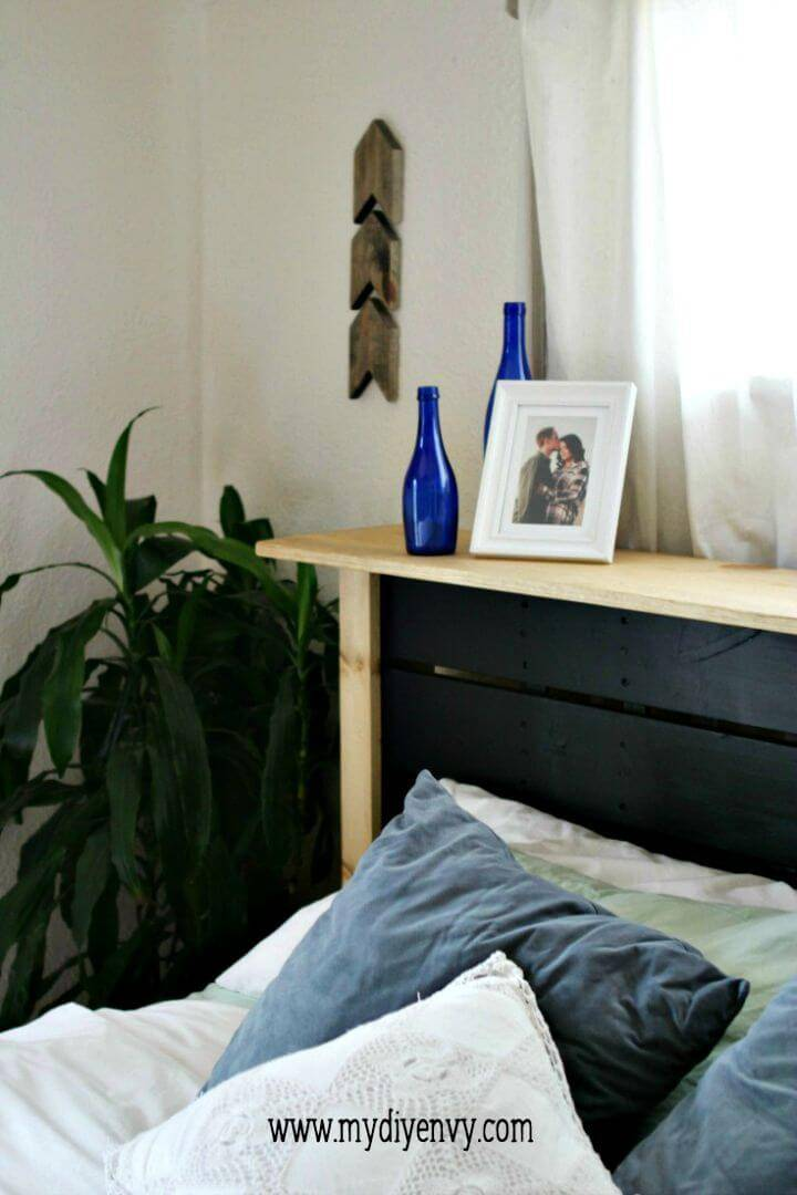 How to Build Your Own Pallet Headboard For A King Size Bed Tutorial