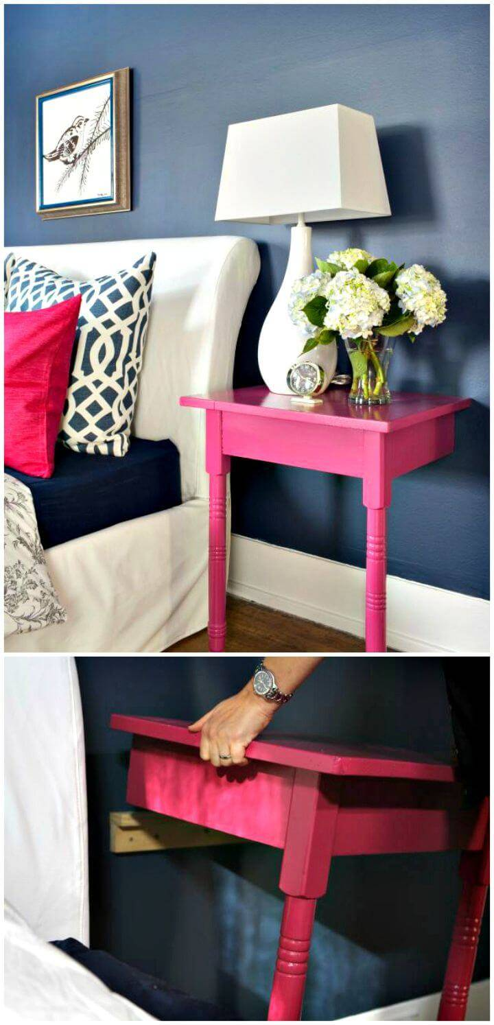 Creative and Chic DIY Nightstands Tutorial