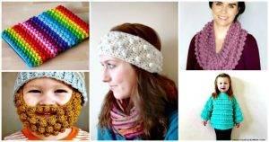 Crochet Bobble Stitch – 30 Free Crochet Patterns