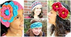 Crochet Headband Patterns - DIY Crafts - Free Crochet Patterns