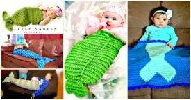 Crochet Mermaid Tail Patterns - 30 Free Crochet Patterns - DIY Crafts