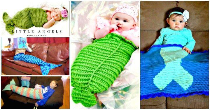 Crochet Mermaid Tail Patterns – 30 Free Crochet Patterns
