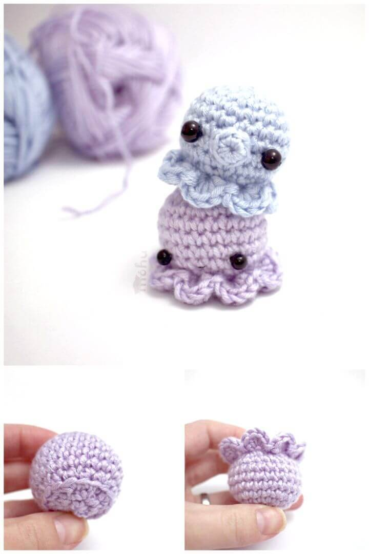 Easy and Cute Free Crochet Octopus Pattern
