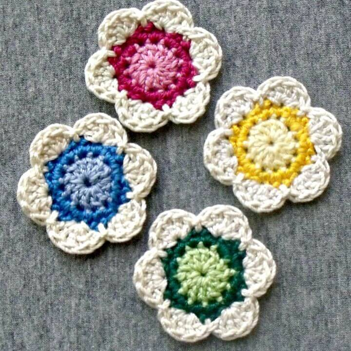 Cute How To Free Crochet Spring Lil' Flower Pattern
