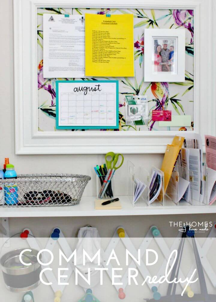 Easy DIY Command Center Redux For Your Entryway Tutorial