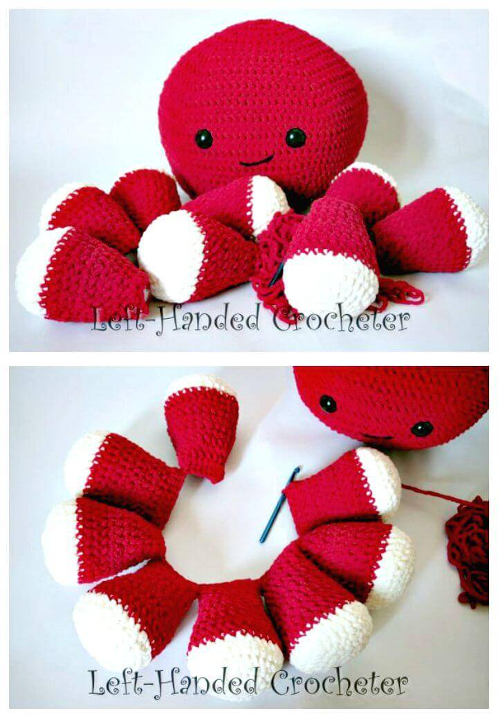 How To Free Crochet Giant Octopus Pattern