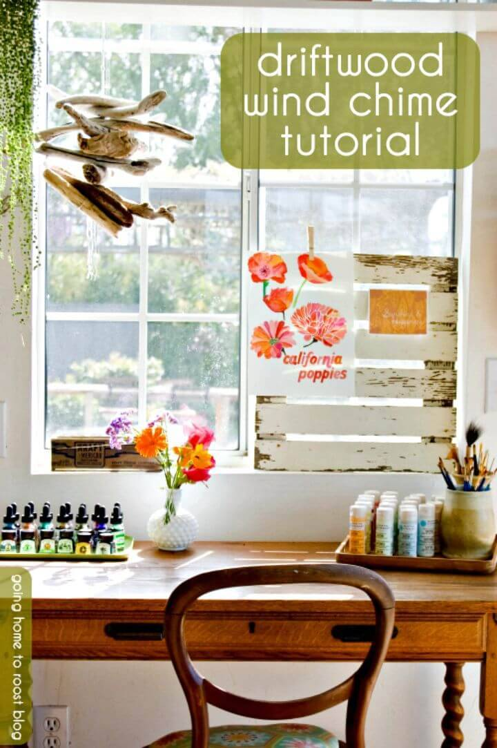 Easy DIY Driftwood Wind Chime Tutorial