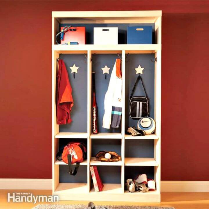 Easy DIY Entryway Storage and Organizer Idea