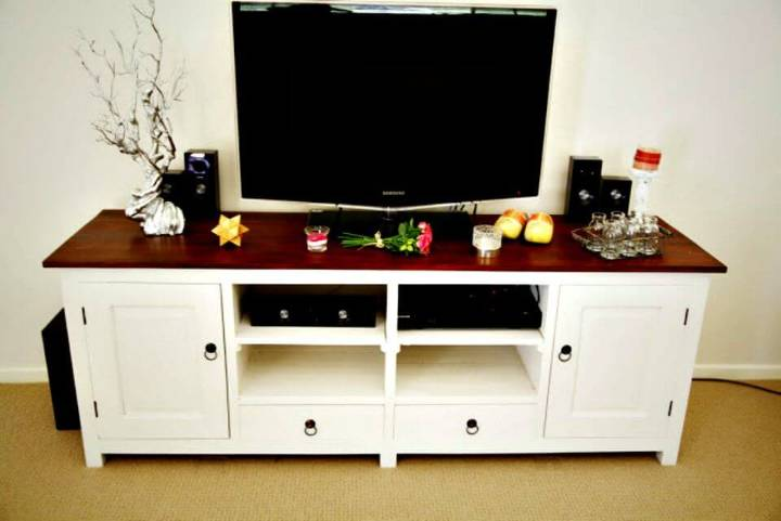 Easy DIY French Provincial TV Unit Tutorial