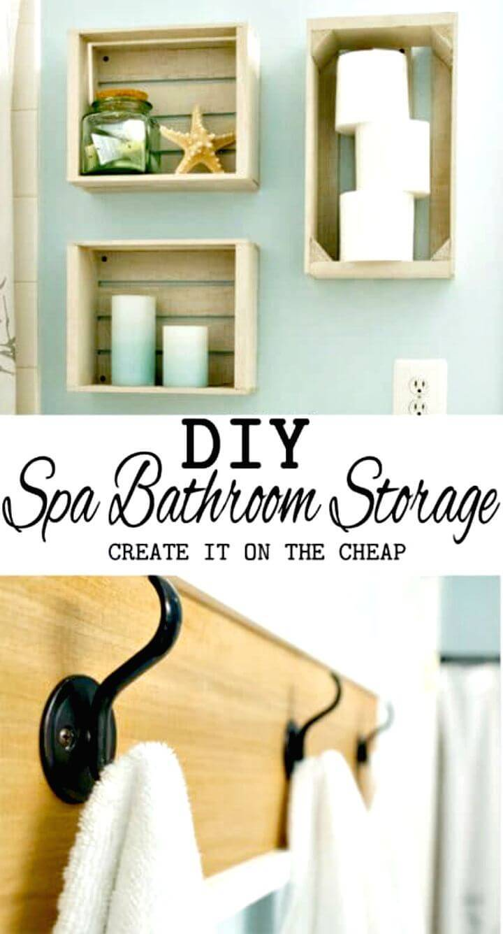 DIY Guest Bathroom Towel Rack Tutorial