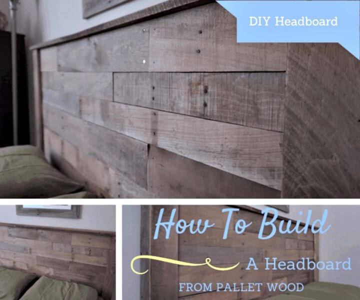 Easy DIY Headboard From Pallets In 8 Simple Steps Tutorial