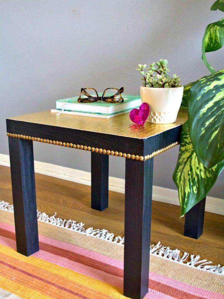 DIY Ikea Lack Nightstand Tutorial