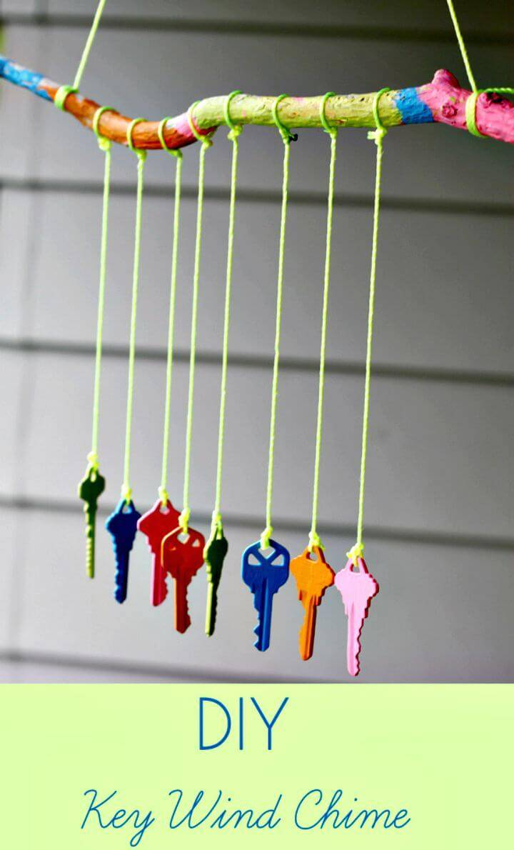 How To Make A Key Wind Chime Tutorial