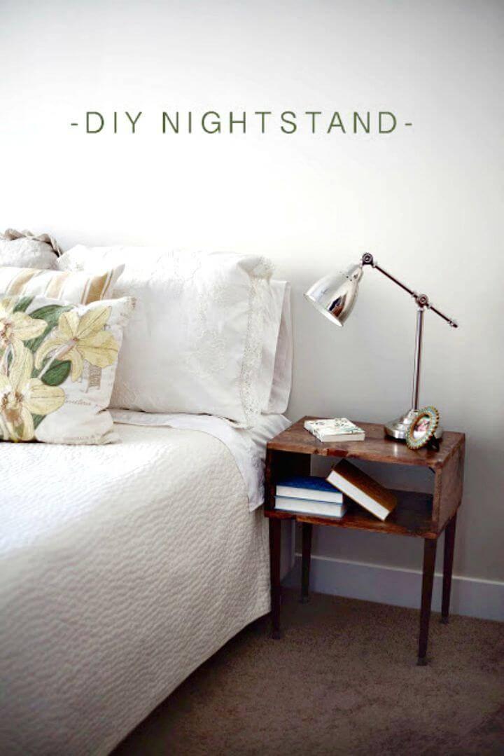 Easy DIY Nightstands Tutorial