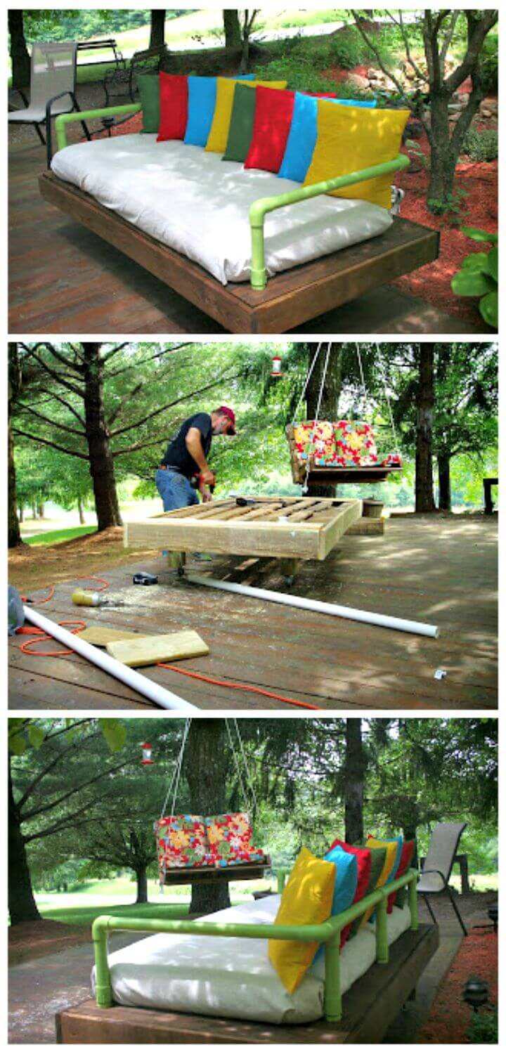 Easy DIY Pallet Daybed Tutorial