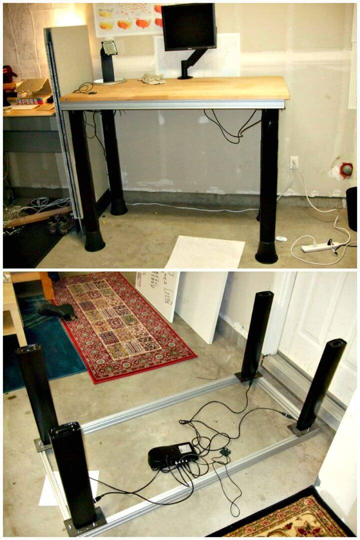 Quick DIY Electric Sit-to-Stand Desk Tutorial