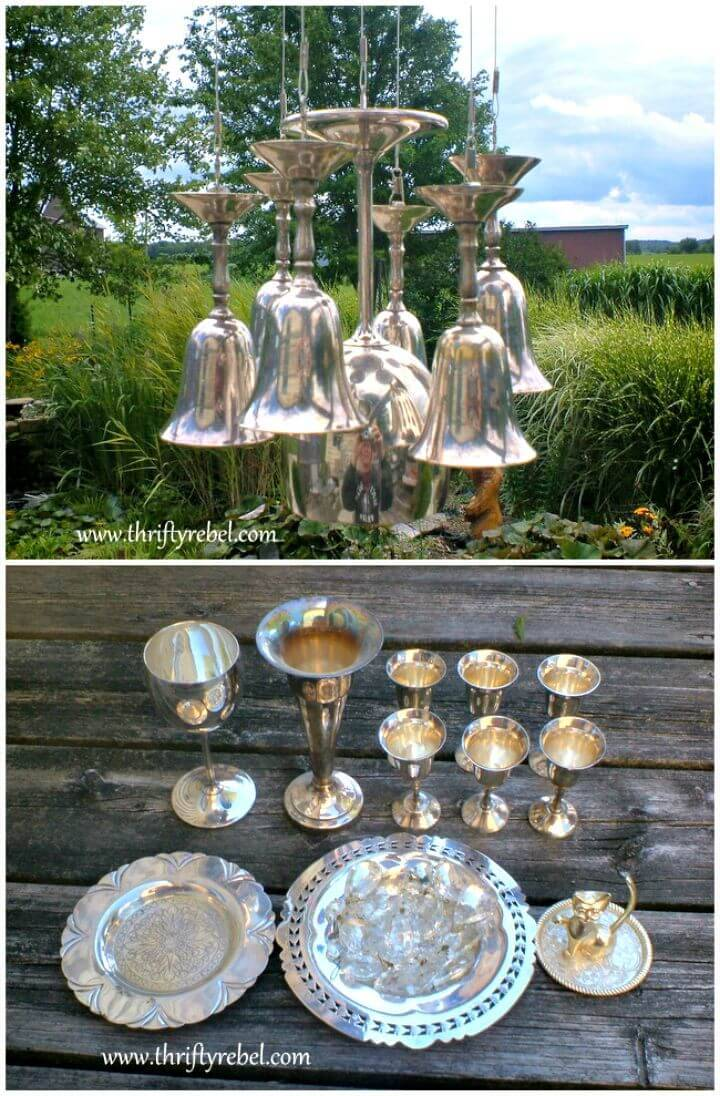 How To Build A Silver Goblet Wind Chimes Tutorial