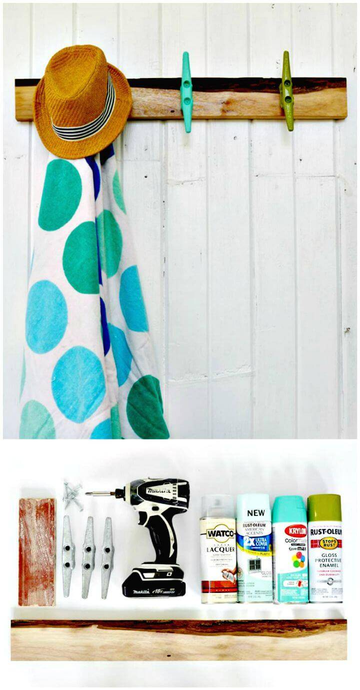 How To Make a Towel Rack Tutorial