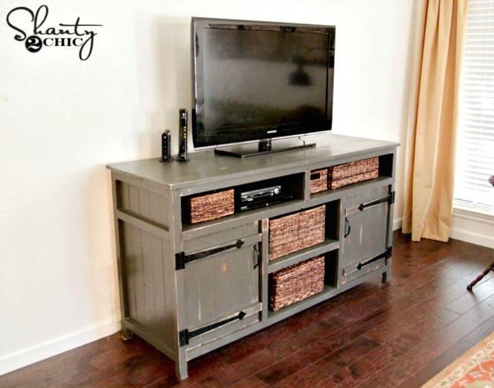 Easy How to Build Your Own TV Stand Tutorial