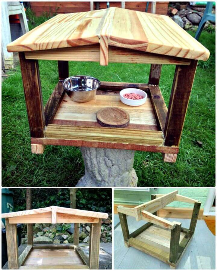 Easy To Build a Bird House From a Pallet Tutorial
