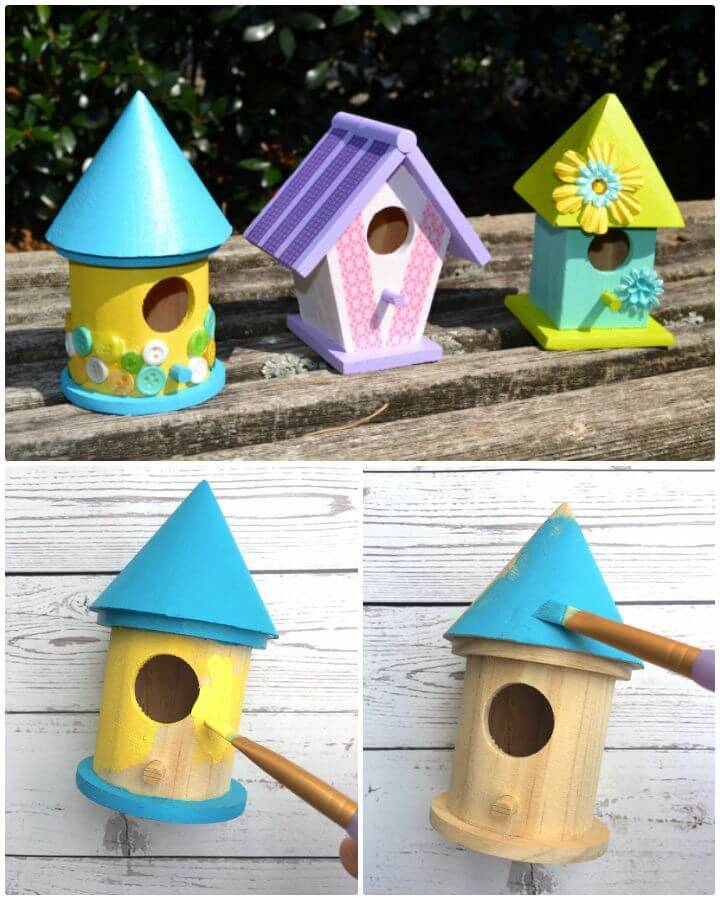 Easy DIY Birdhouse Craft for Kids Tutorial