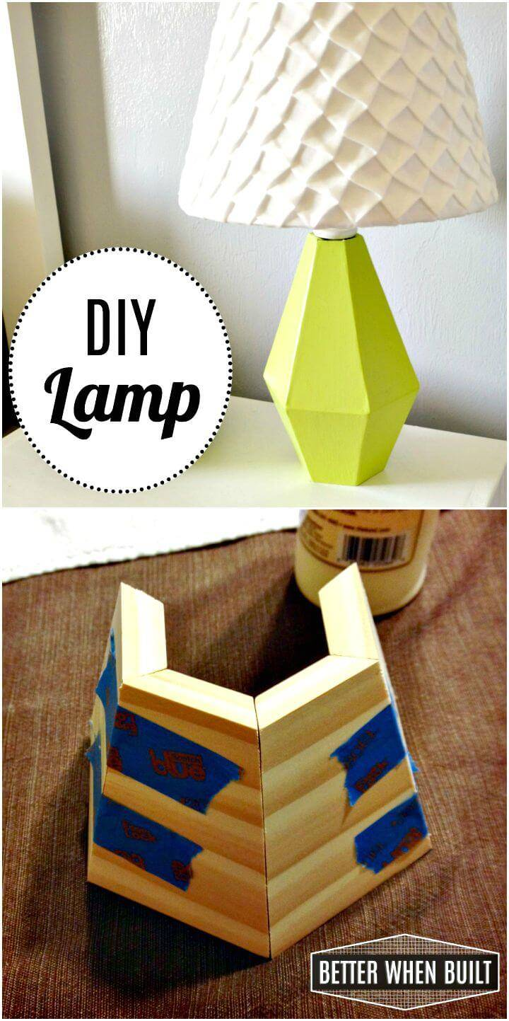 Easy How To Make a Lamp Tutorial