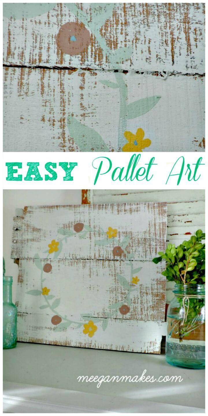 Easy Build Your Own Pallet Art Tutorial