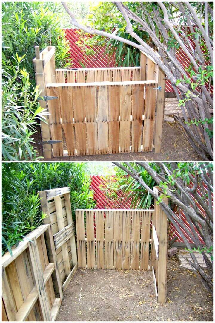 Easy DIY Pallet Compost Bin Tutorial