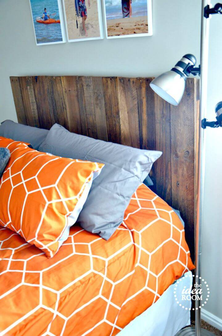 Easy DIY Pallet Headboard Tutorial