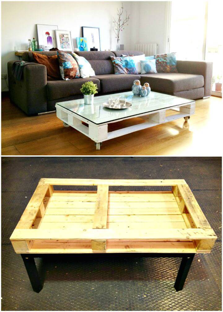 Easy How to DIY Pallet Table Tutorial