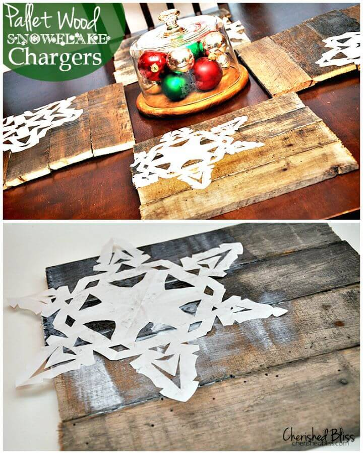 Build Your Own Pallet Wood Chargers - DIY